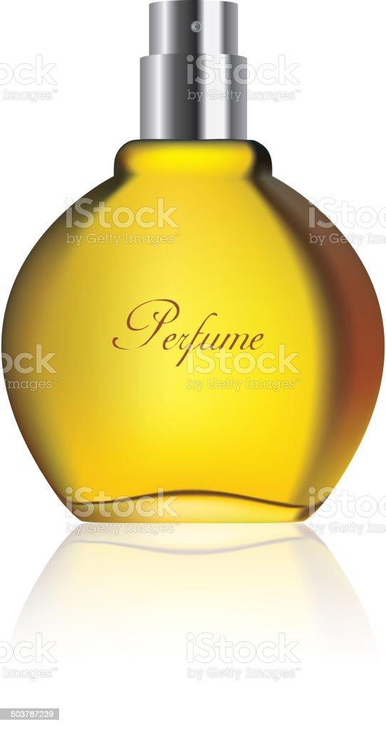 Perfume vector art illustration