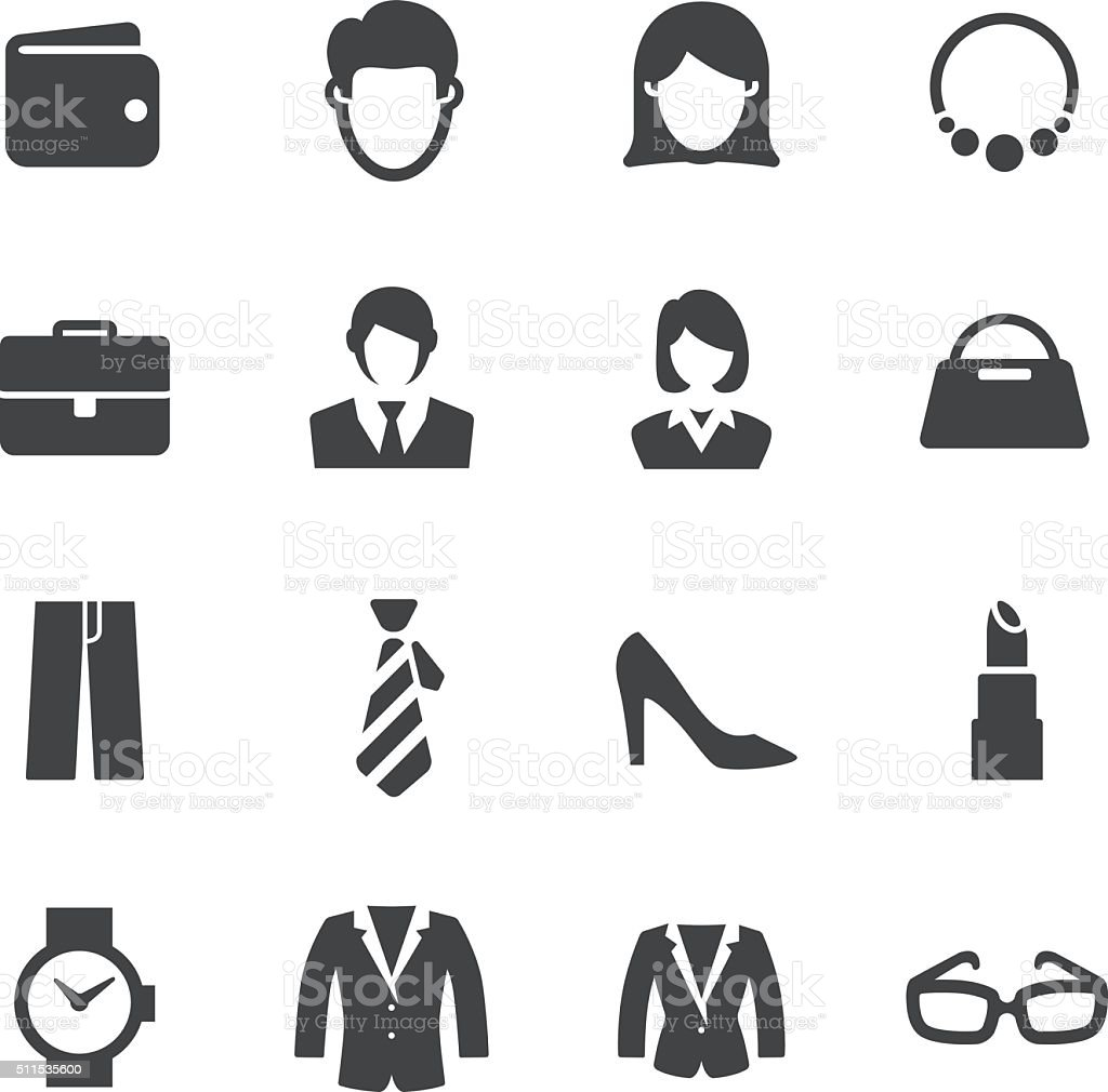 Personal Image Icons - Acme Series vector art illustration