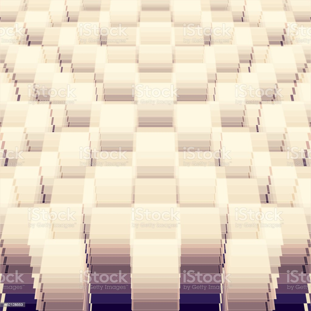Perspective geometric background royalty-free stock vector art
