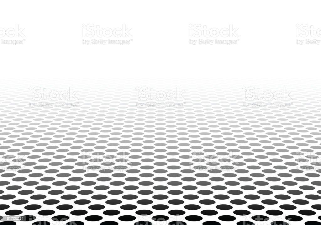 Perspective textured surface vector art illustration