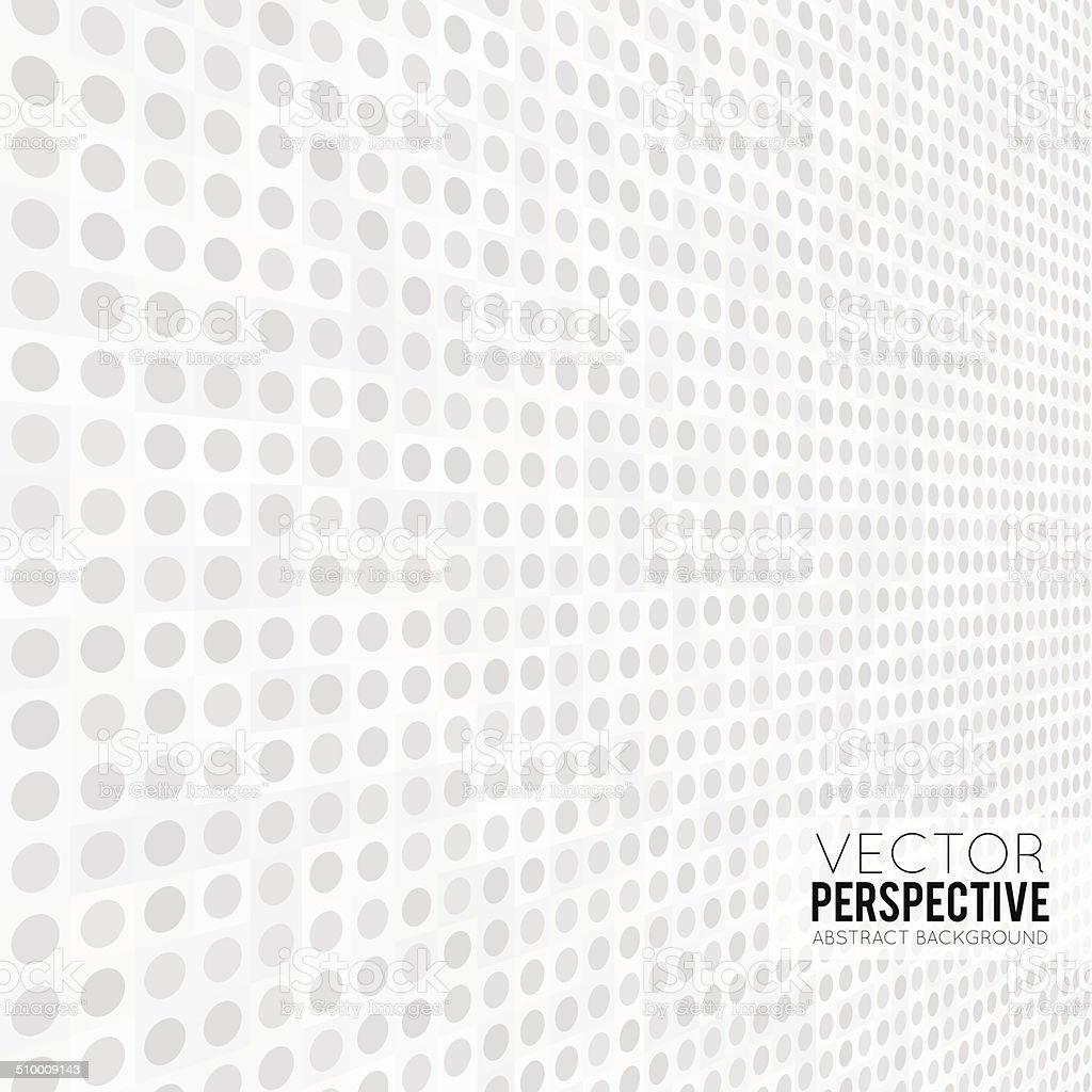 Perspective vector art illustration