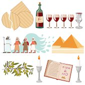 Pesach Symbols Collection