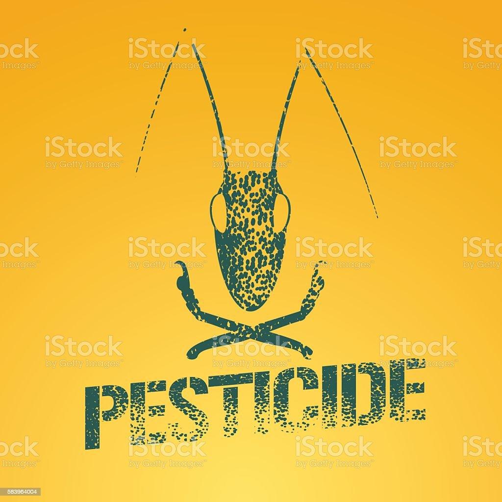 Pesticide vector icon vector art illustration