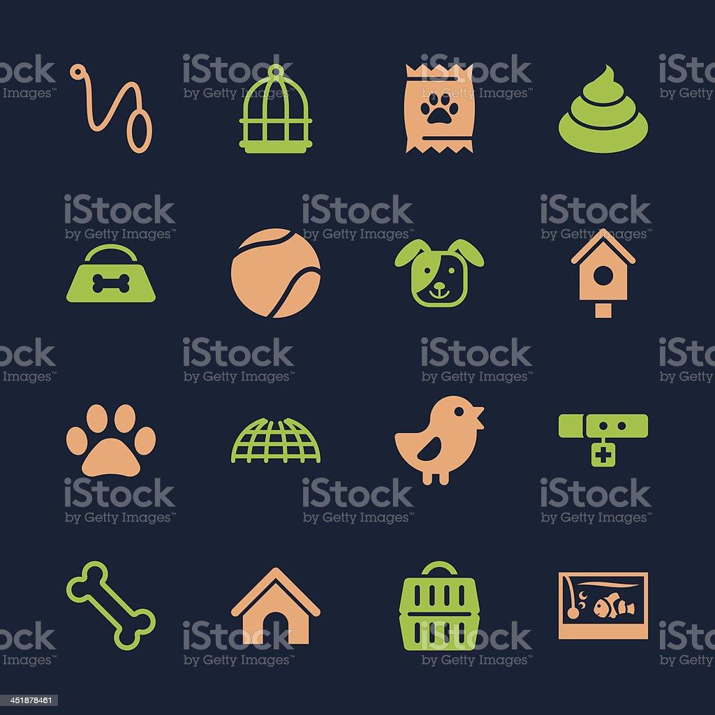 Pet Icons - Color Series | EPS10 vector art illustration