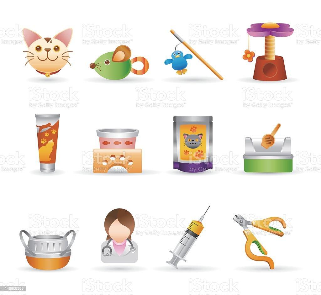 Pet Icons | Gradient Series royalty-free stock vector art