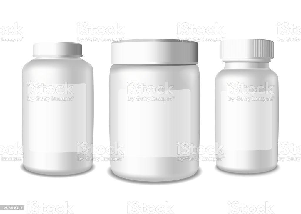 Pharmaceutical and Medicine vector art illustration