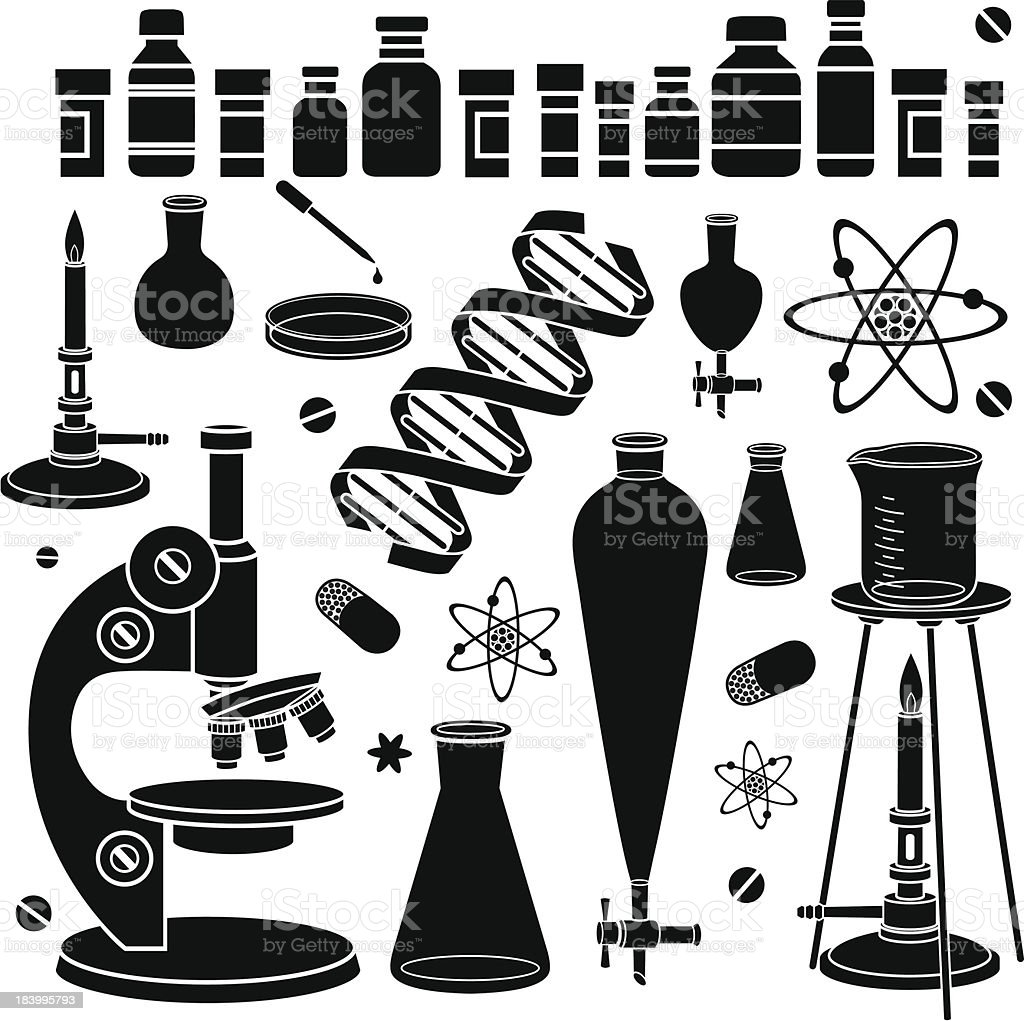 pharmaceutical research laboratory royalty-free stock vector art