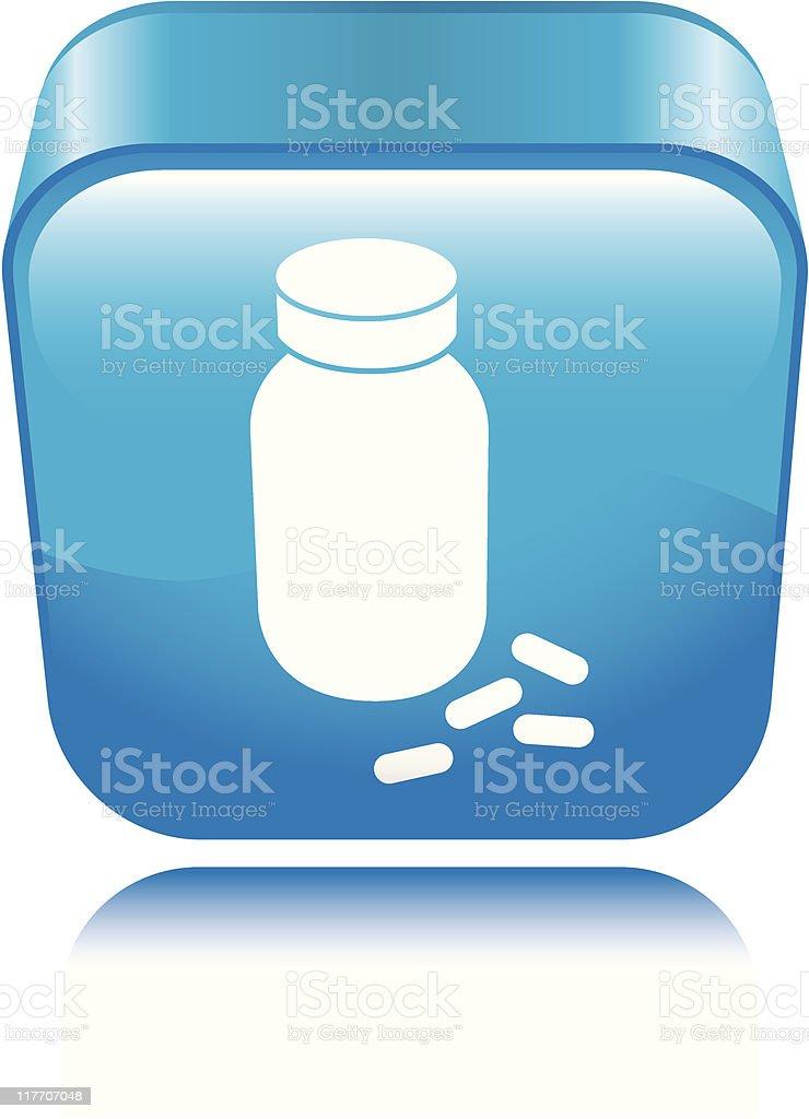 Pharmacy Icon royalty-free stock vector art