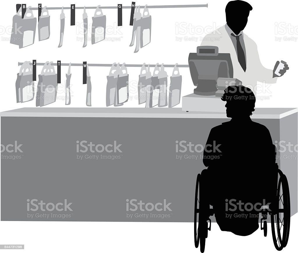 Pharmacy Prescription Drugs vector art illustration