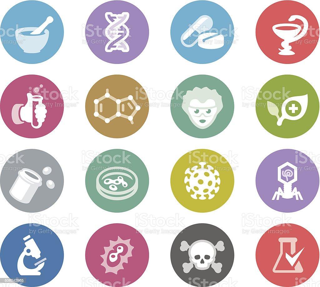 Pharmacy / Wheelico icons royalty-free stock vector art