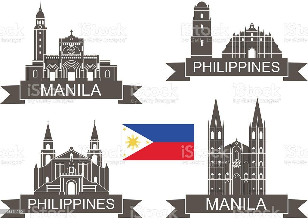 Philippines vector art illustration