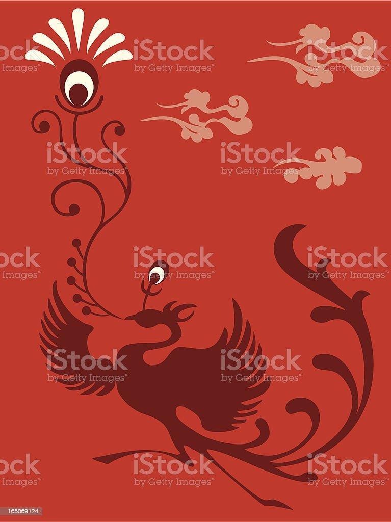 Phoenix Delight royalty-free stock vector art