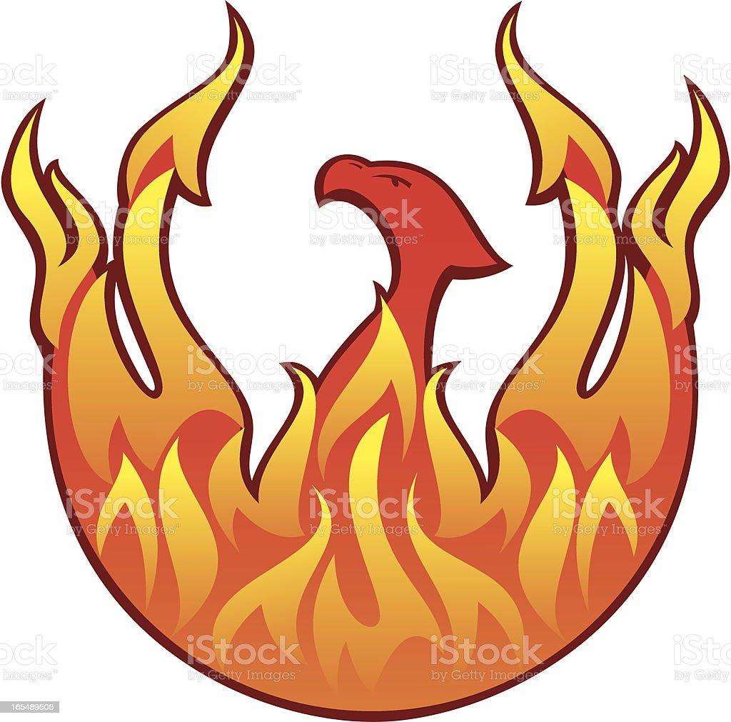 Phoenixs royalty-free stock vector art
