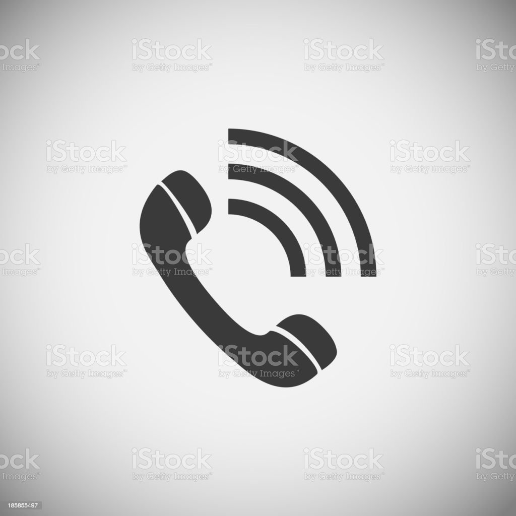 Phone application icons royalty-free stock vector art
