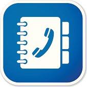 phone book sq sticker