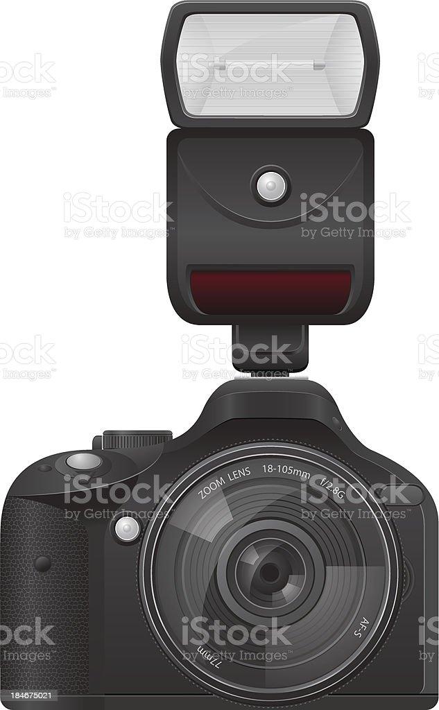 photo camera vector illustration royalty-free stock vector art
