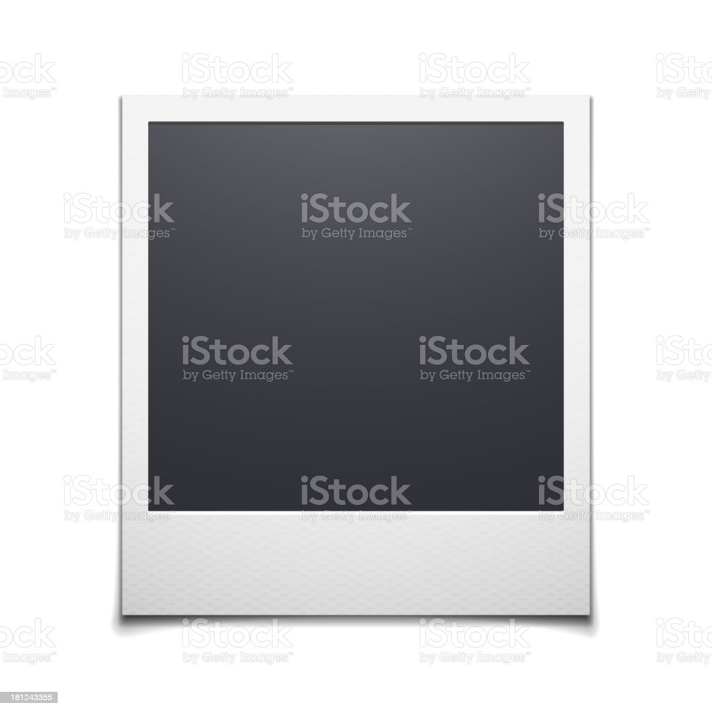 Photo frame vector art illustration