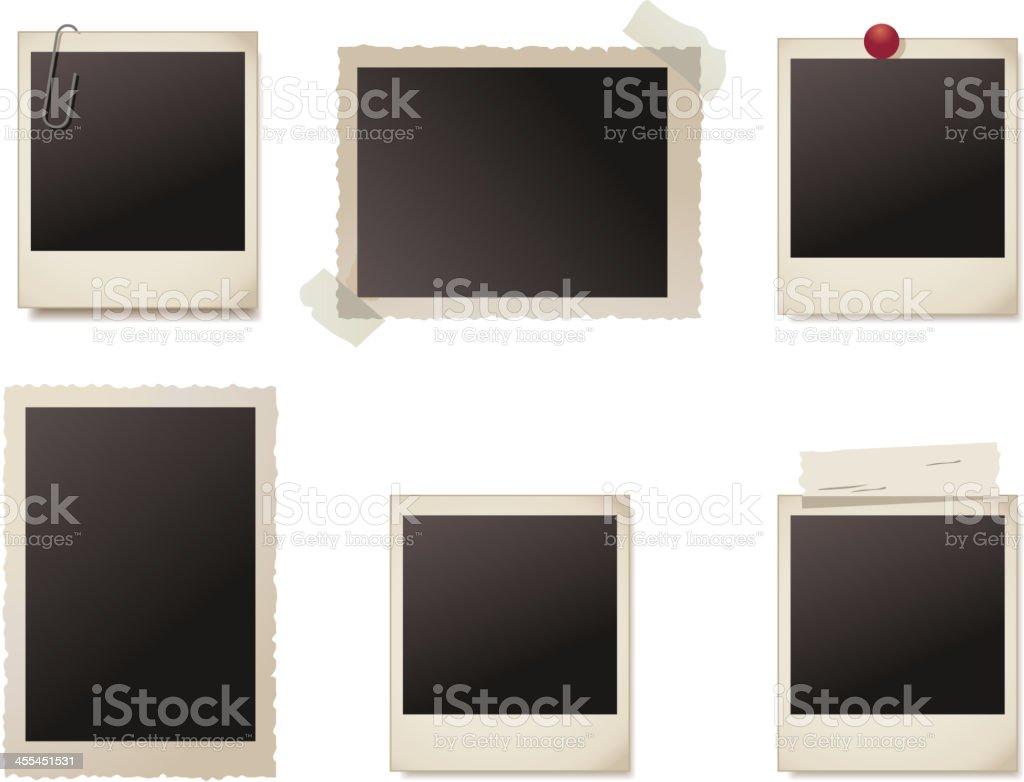 Photo frames collection royalty-free stock vector art