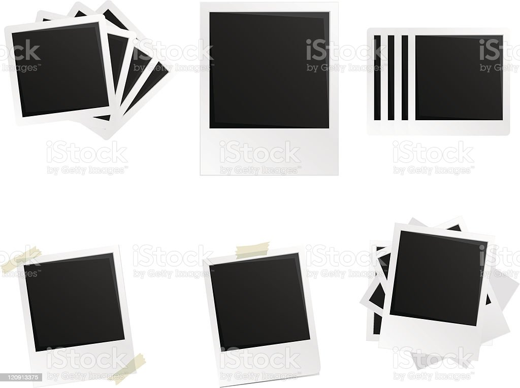 photo frames royalty-free stock vector art