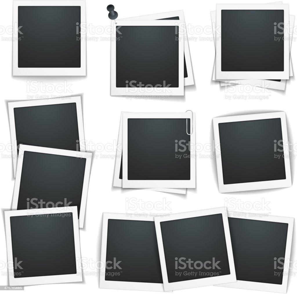 Photo Frames vector art illustration