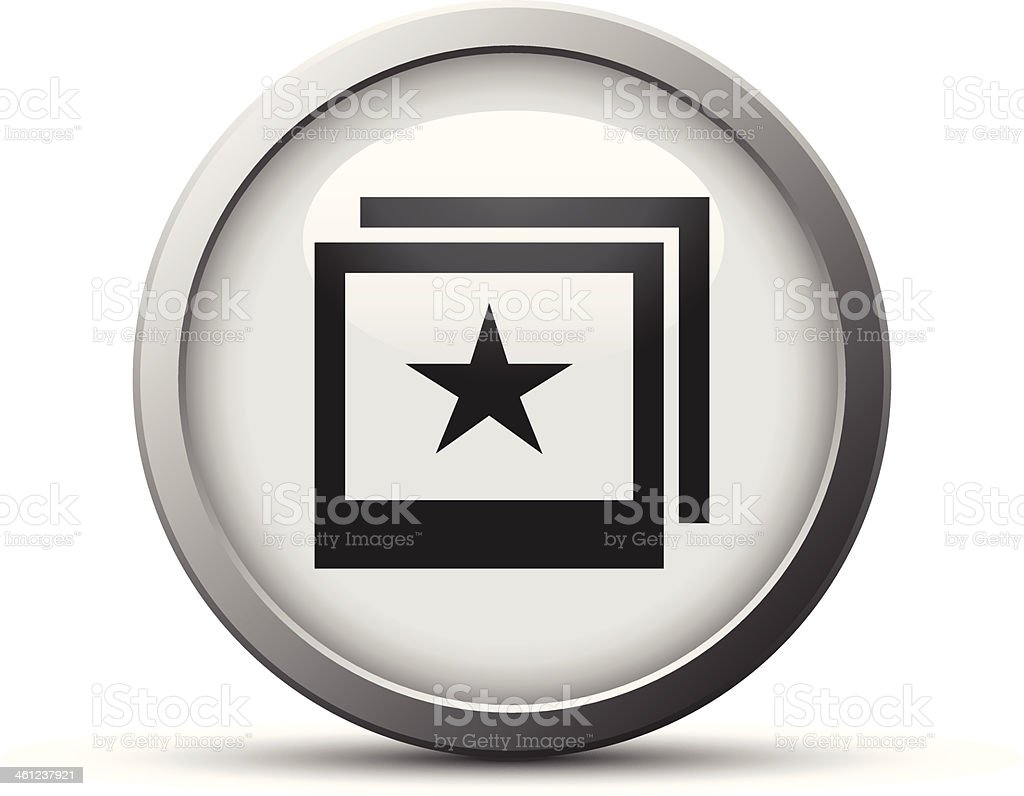 Photo icon royalty-free stock vector art