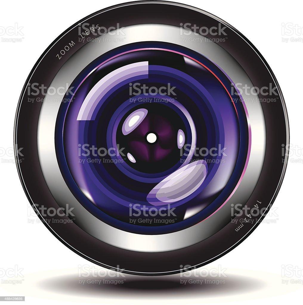 Photo Lens | Camera royalty-free stock vector art
