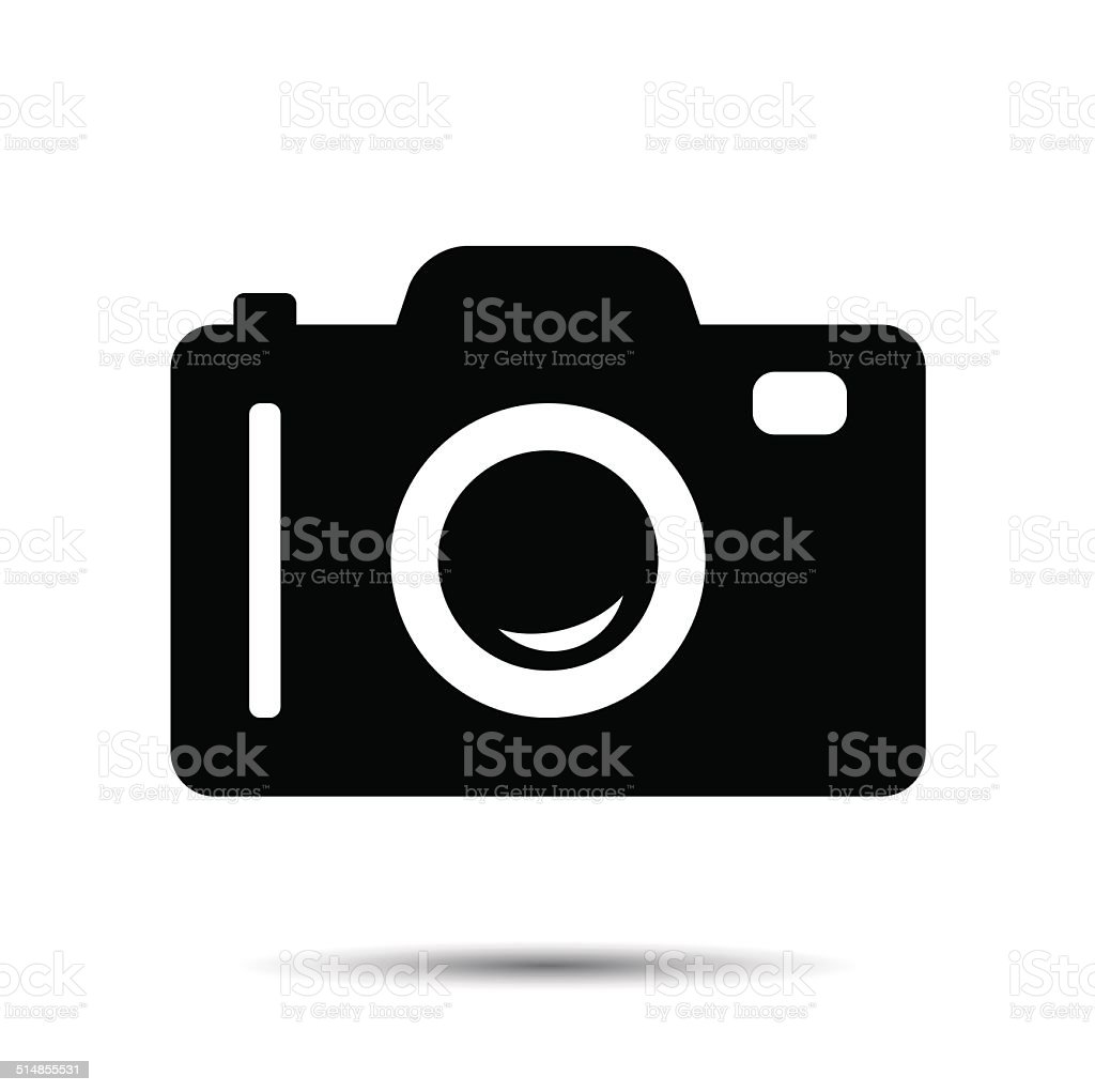 Photo or Camera Icon vector art illustration