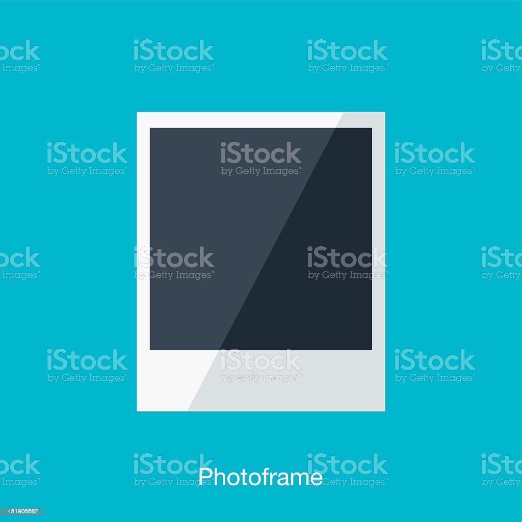 Photo Paper vector art illustration