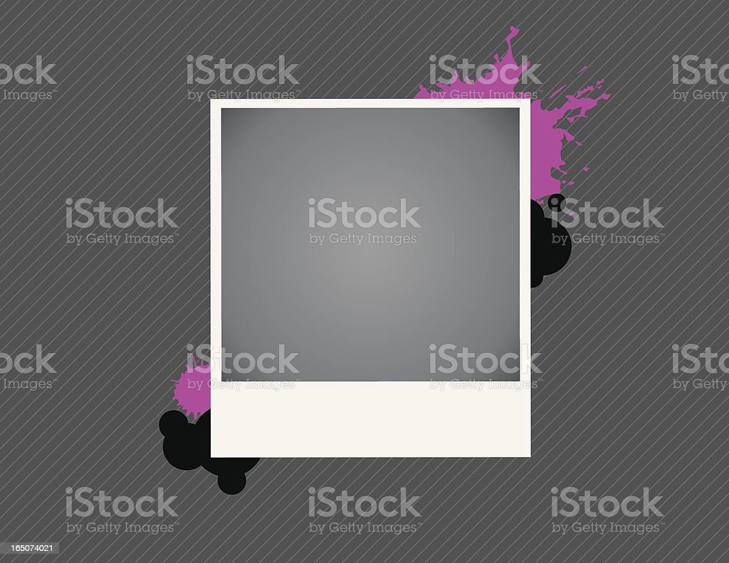 Photo Splatters royalty-free stock vector art