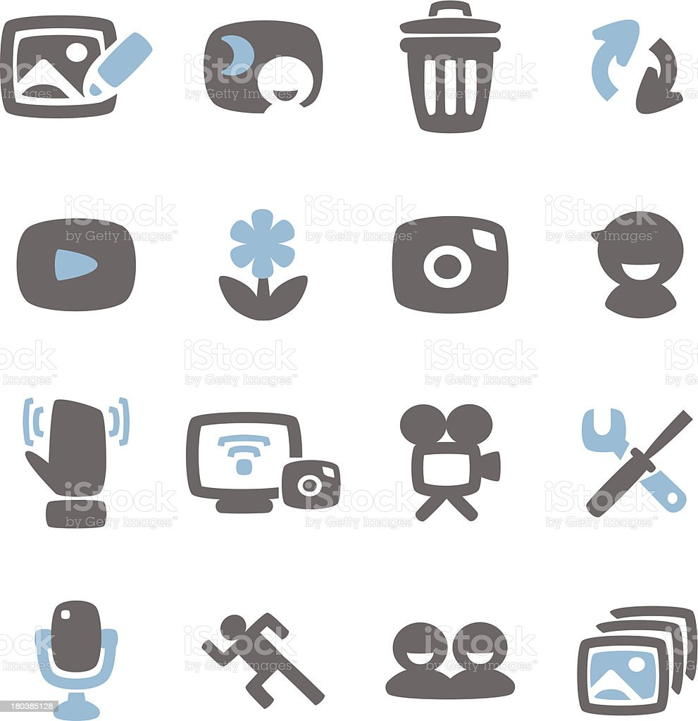 Photograph Icon royalty-free stock vector art