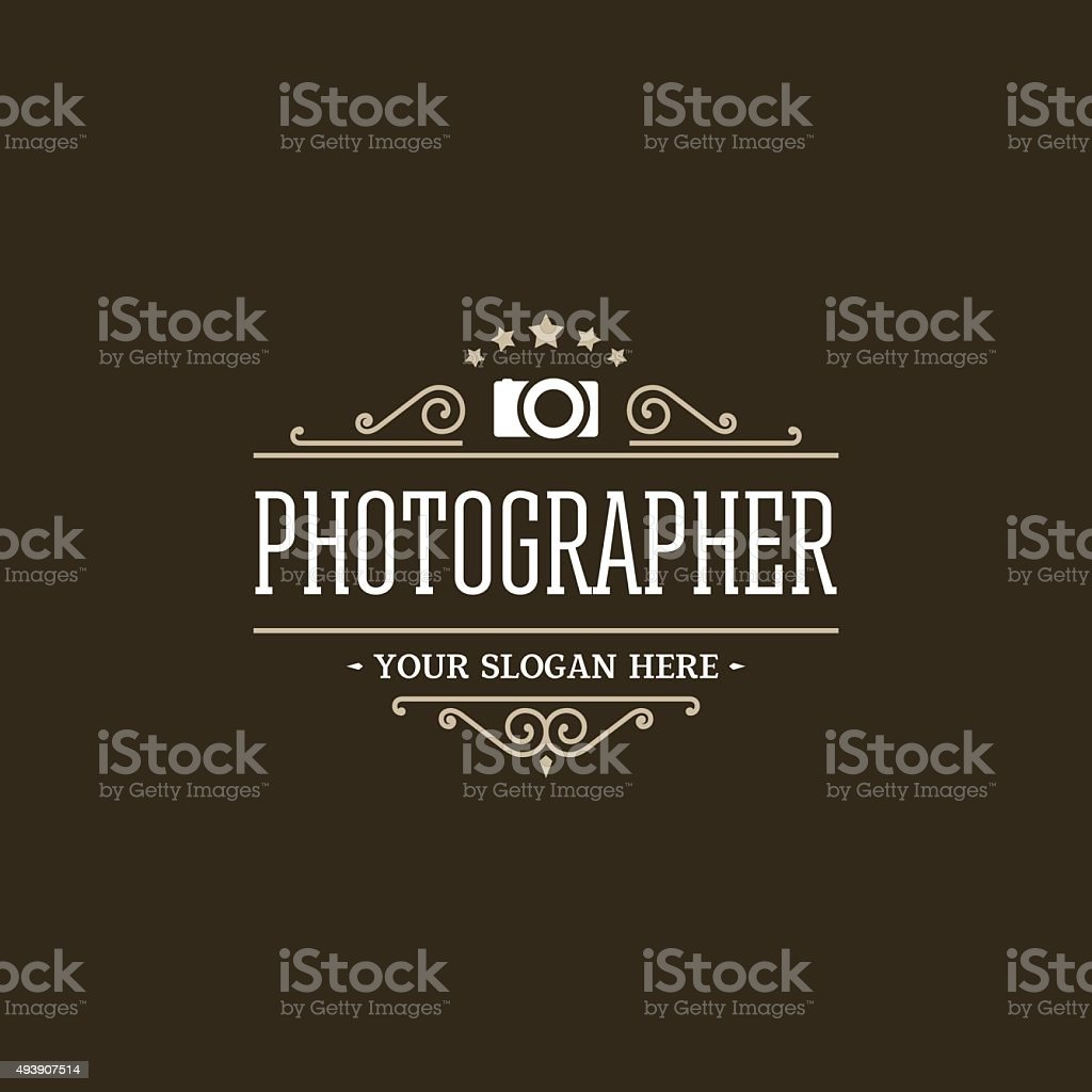 Photographer vector art illustration
