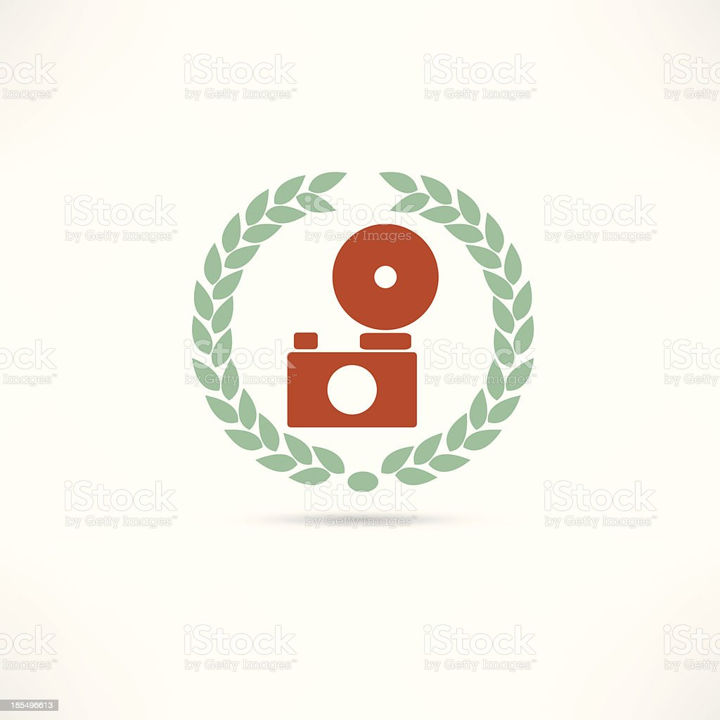 Photography Icon royalty-free stock vector art