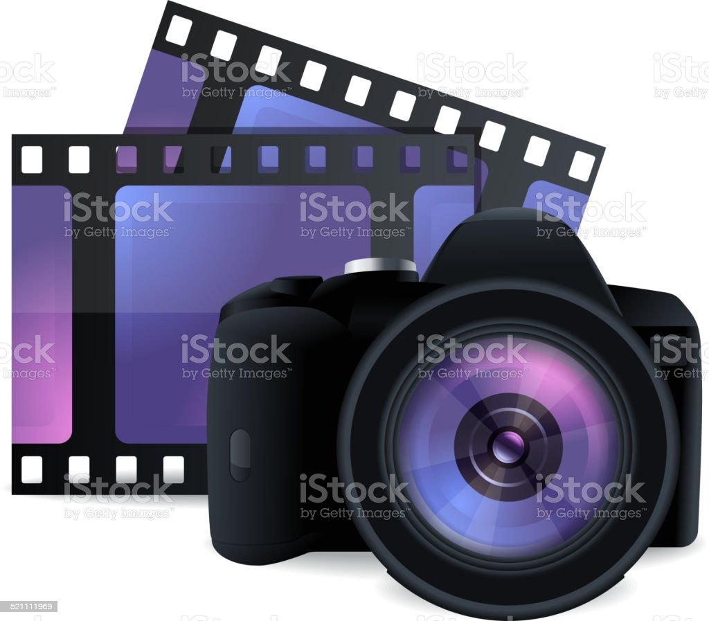 Photography Icon vector art illustration