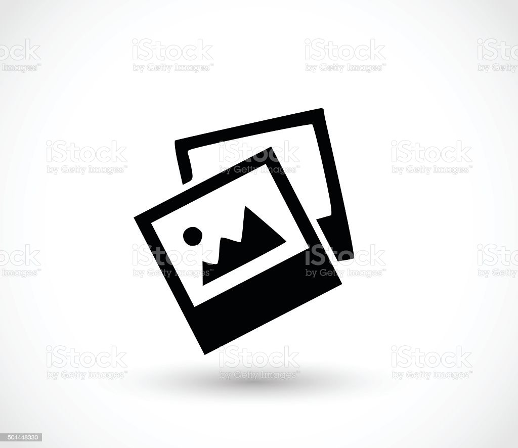 Photos/ images/ jpg icon vector illustration vector art illustration