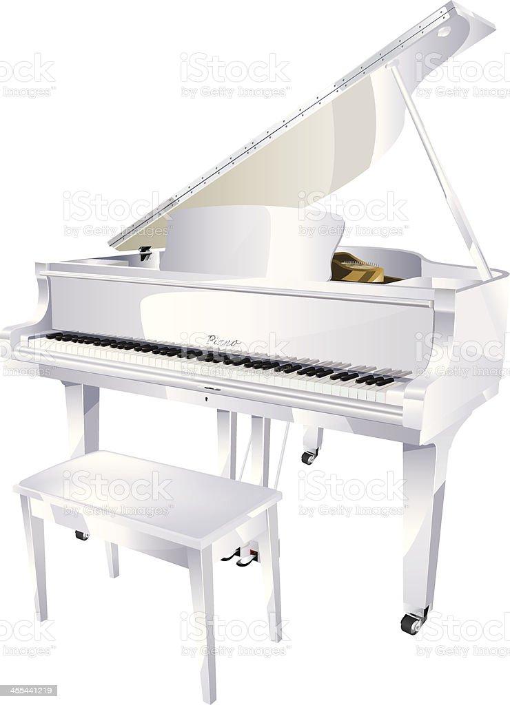 Piano royalty-free stock vector art
