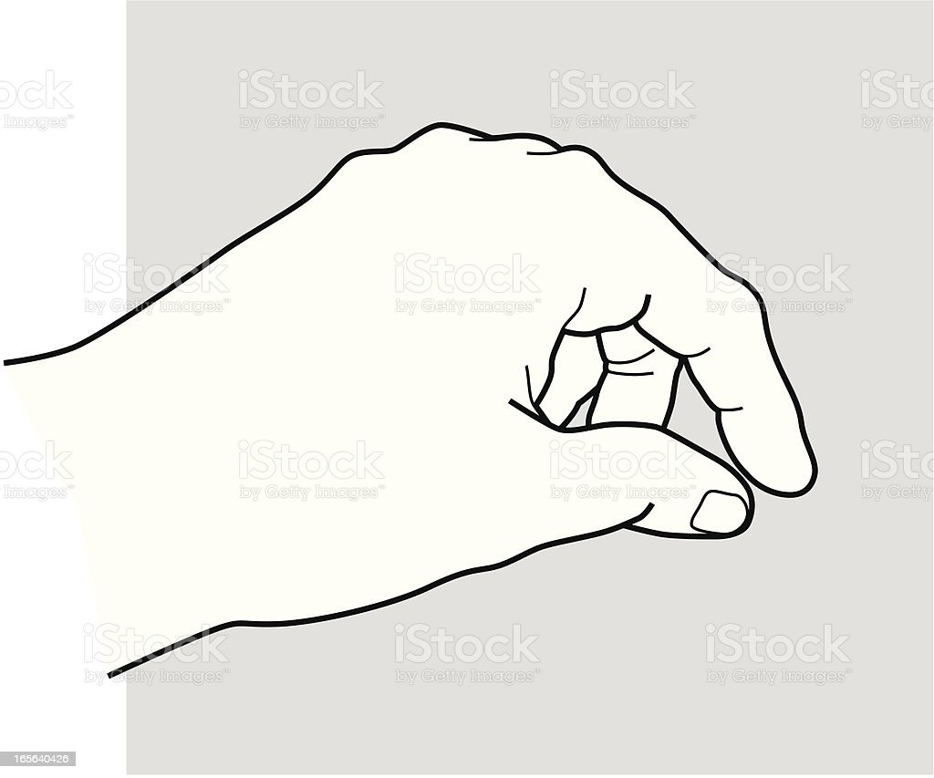 Picking_Up_1 royalty-free stock vector art