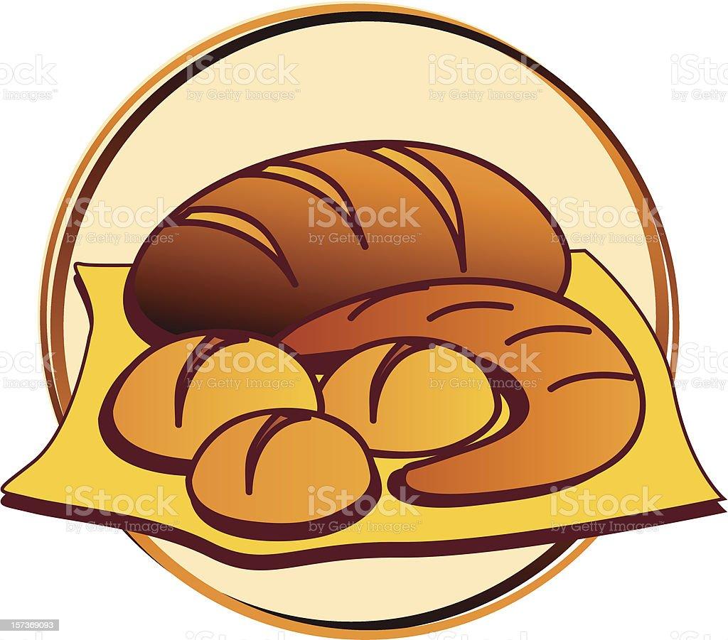 pictogram - bakery royalty-free stock vector art