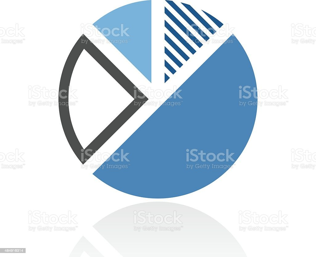 Pie chart icon on a white background stock vector art 484916314 istock pie chart icon on a white background royalty free stock vector art geenschuldenfo Gallery