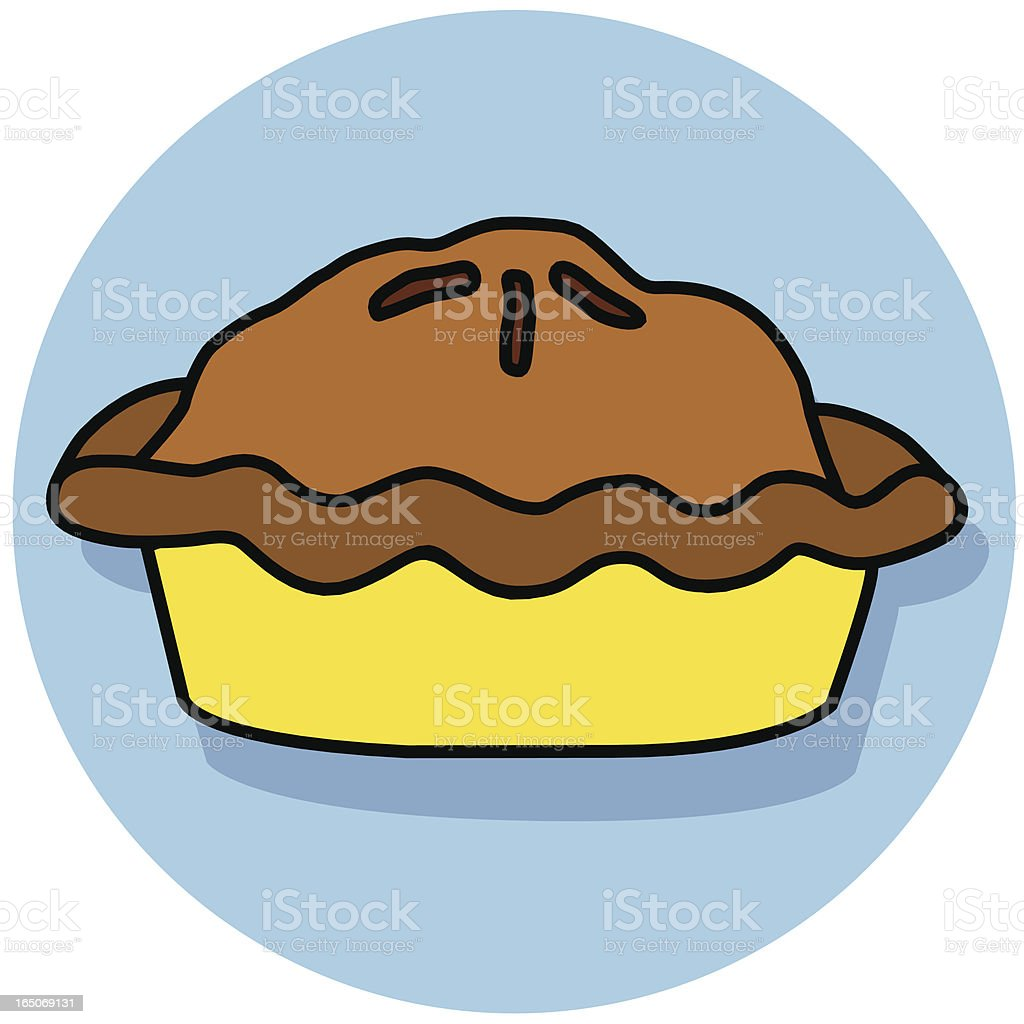 pie icon royalty-free stock vector art