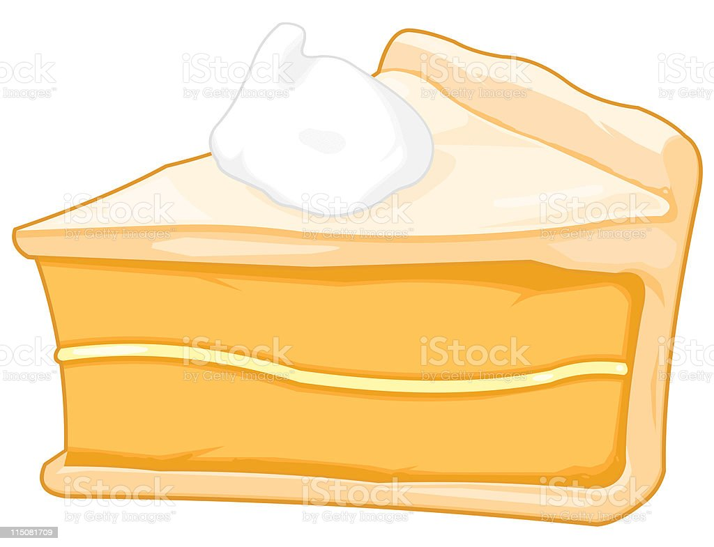 Pie Slice vector art illustration