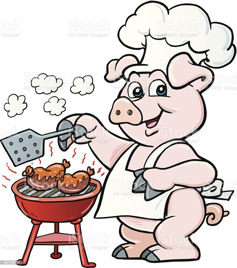 Pig royalty-free stock vector art