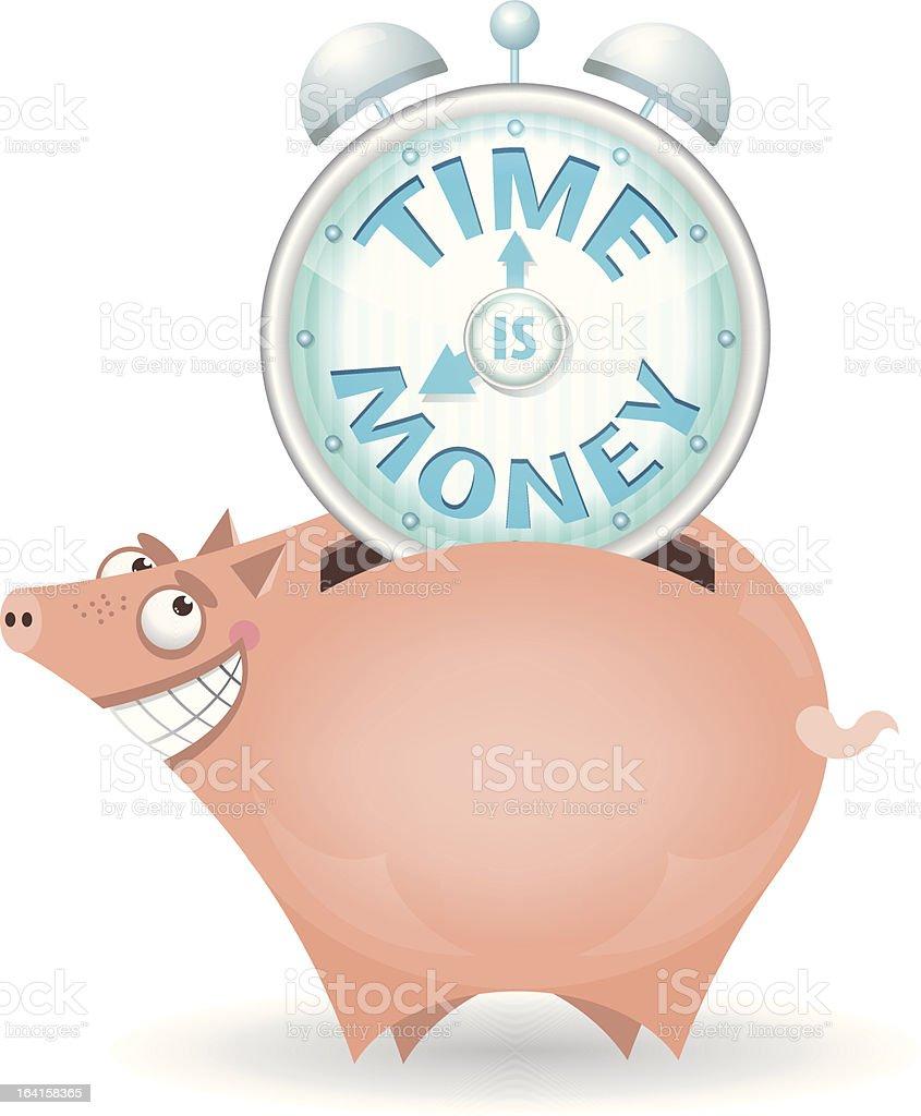 Piggybank royalty-free stock vector art