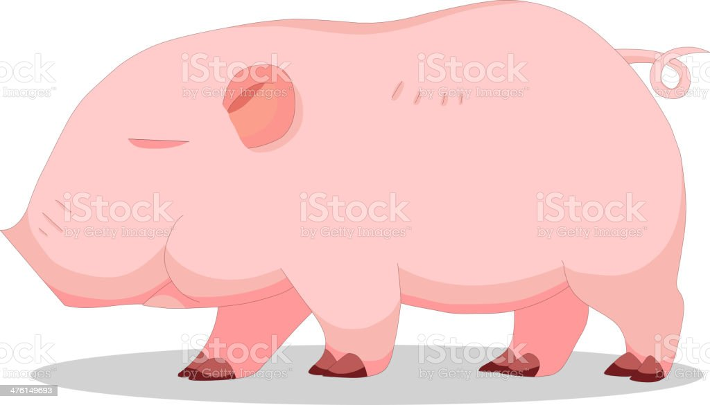 Piglets royalty-free stock vector art