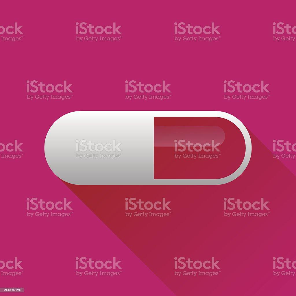 Pill vector art illustration