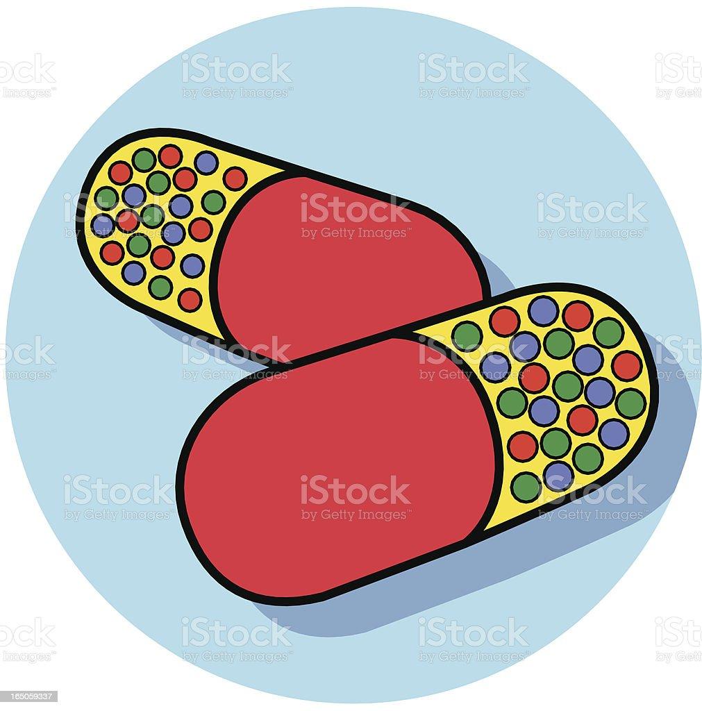 pills icon royalty-free stock vector art