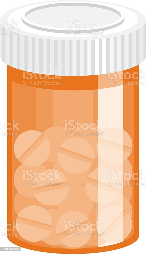 Pills Icon royalty-free stock vector art