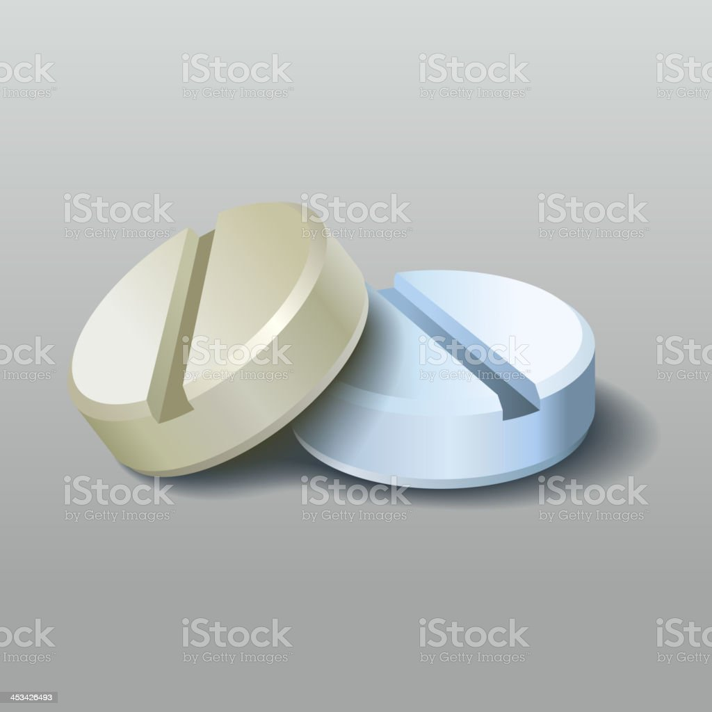 Pills. Vector. royalty-free stock vector art