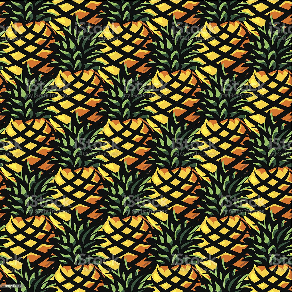 ananas background royalty-free stock vector art