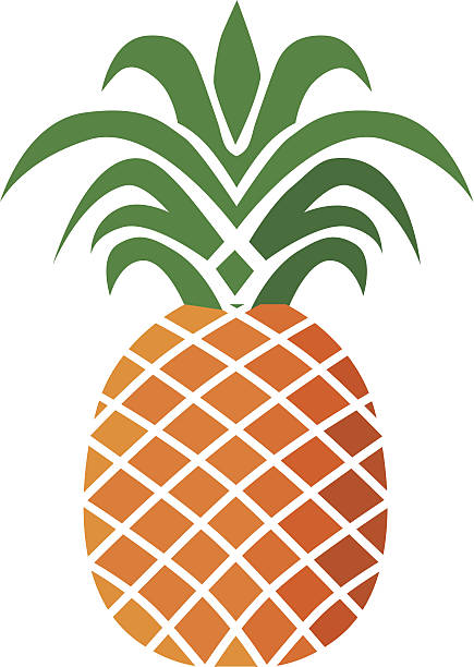Pineapple Clip Art, Vector Images & Illustrations - iStock