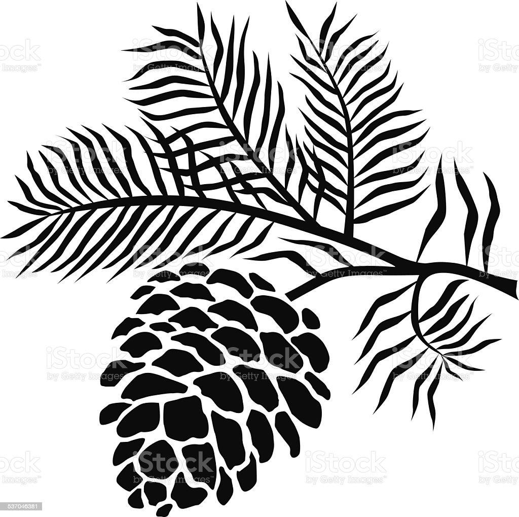 pine cone clip art  vector images   illustrations istock pine cone clip art black and white pine cone silhouette clip art
